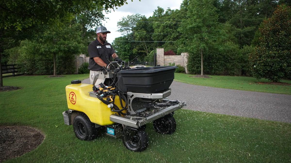 fall lawn care fertilization