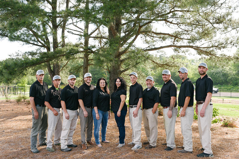 Master Lawn lawn care team Northern MS
